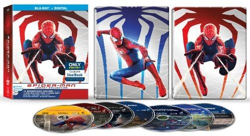 Spider-Man: The Legacy Collection SteelbookUnboxing